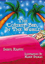 The Coziest Bed in the World - Art by Marie Stamas. All Rights Reserved